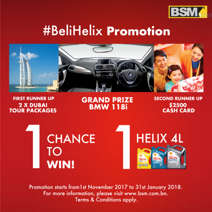 Authorised  Outlets participating in #BeliHelix promotion