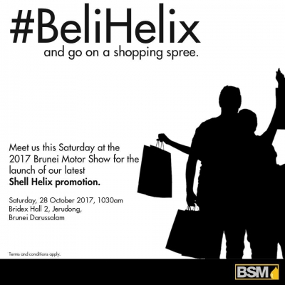 #BeliHelix and go on a shopping spree.