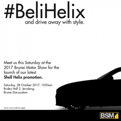 #BeliHelix and drive away with style.