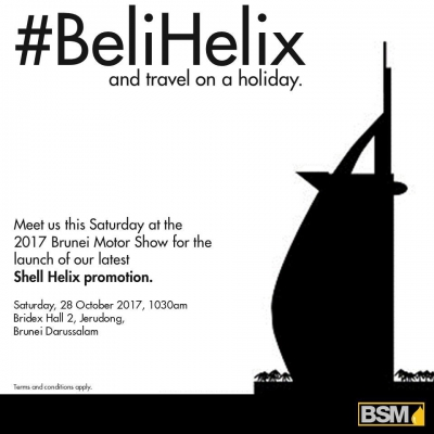 #BeliHelix and travel on a holiday.